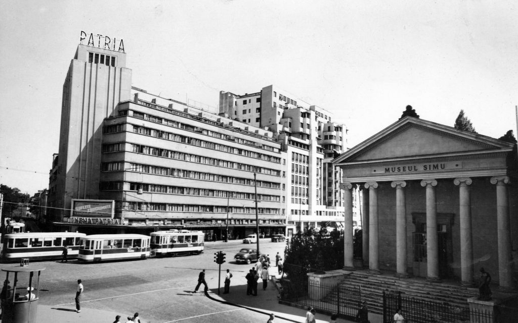 419-1950 Bloc Patria si Muzeul Simu-demolat 1964