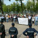protest parlament rqdio chisinau